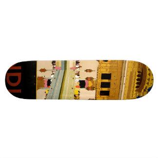 Visit India Custom Skateboard