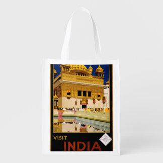 Visit India Market Totes