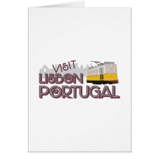 Visit Lisbon Portugal Card