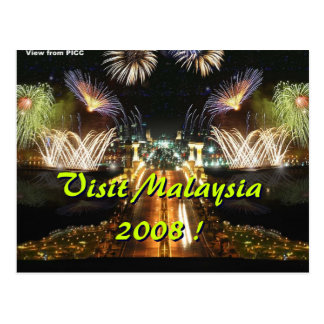 Visit Malaysia 2008 ! Postcard