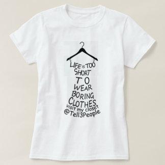 Visit My Closet Womens White T-shirt