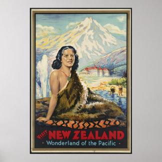 Visit New Zealand Poster