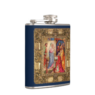 Visit of the Wise Men Hip Flask