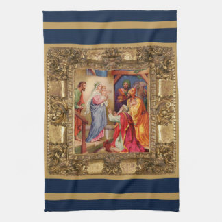 Visit of the Wise Men Kitchen Towel