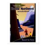Visit Pacific Northwest Vintage Postcards