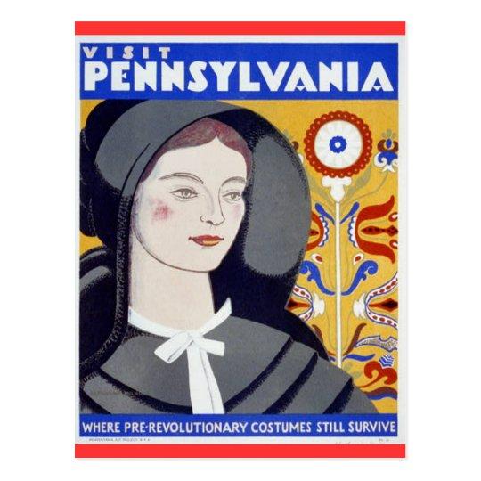 Visit Pennsylvania Postcard