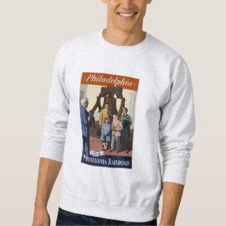 Visit Philadelphia on The Pennsylvania Railroad Sweatshirt