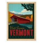 Visit Scenic Vermont Postcard