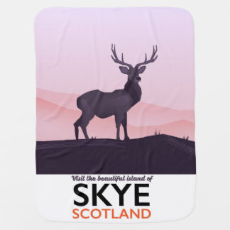 Visit the Beautiful Island of Skye Baby Blanket