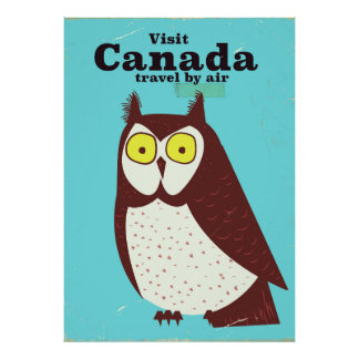Visit the Canada Owl poster