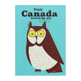Visit the Canada Owl poster Acrylic Wall Art