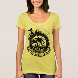 Visit the Hawaiian Islands | Beach DestinaMonogram T-Shirt