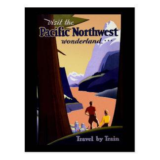 Visit The Pacific Northwest Postcard