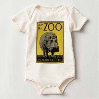 Visit the Philadelphia Zoo Baby Bodysuit