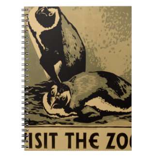 Visit The Zoo Spiral Notebook