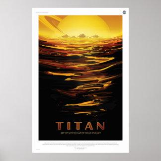 Visit Titan Poster