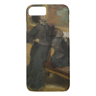 Visit to a Museum by Edgar Degas iPhone 7 Case