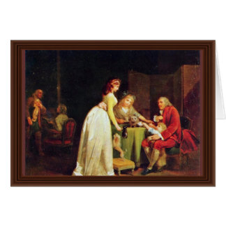Visit To Grandfather By Boilly Louis-Léopold (Best Card