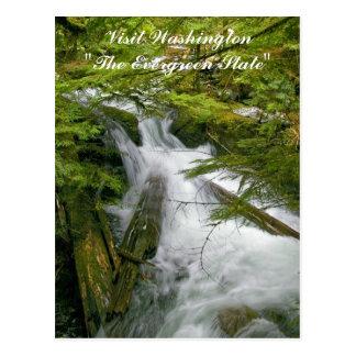 Visit Washington The Evergreen State Postcard