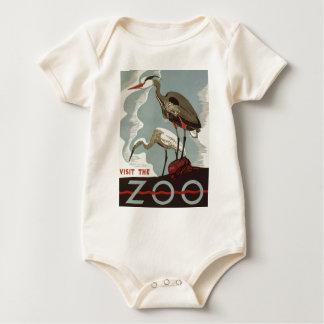 Visit Zoo Vintage Baby Bodysuit