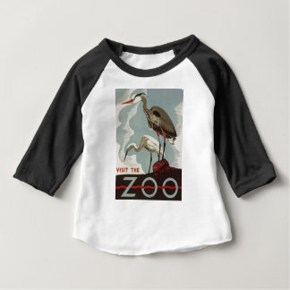 Visit Zoo Vintage Baby T-Shirt