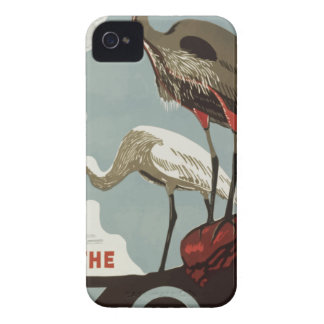 Visit Zoo Vintage iPhone 4 Case-Mate Cases