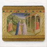 Visitation, from predella Annunciation Mouse Pad