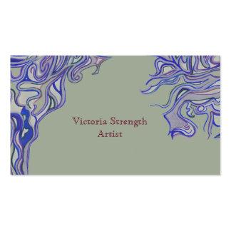 Visitcard creative business card