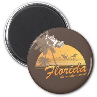 Visitez la Floride, le temps splendide - ouragan Aimants