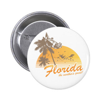 Visitez la Floride, le temps splendide - ouragan Pin's