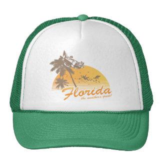 Visitez la Floride, le temps splendide - ouragan Casquettes De Camionneur