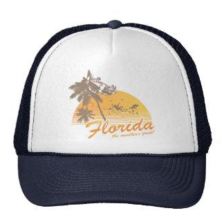Visitez la Floride le temps splendide - ouragan Casquette
