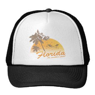Visitez la Floride le temps splendide - ouragan Casquettes De Camionneur