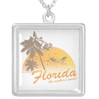 Visitez la Floride, le temps splendide - ouragan Colliers Personnalisés
