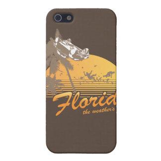 Visitez la Floride le temps splendide - ouragan Étui iPhone 5