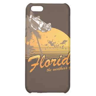 Visitez la Floride, le temps splendide - ouragan Coque Pour iPhone 5C