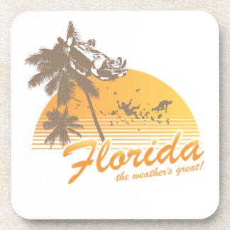 Visitez la Floride, le temps splendide - ouragan Sous-bock