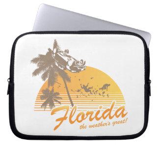 Visitez la Floride, le temps splendide - ouragan Trousses Ordinateur