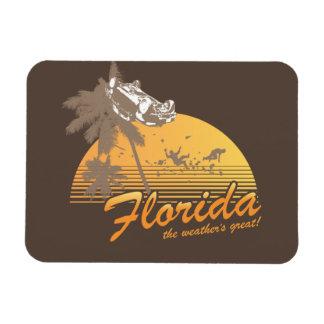 Visitez la Floride, le temps splendide - ouragan Magnets En Vinyle