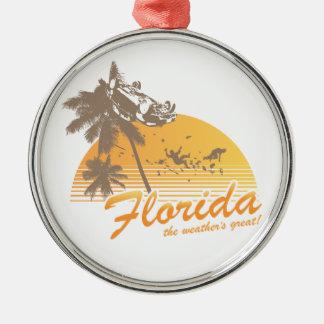 Visitez la Floride, le temps splendide - ouragan Ornements De Noël