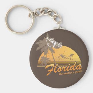 Visitez la Floride, le temps splendide - ouragan Porte-clefs