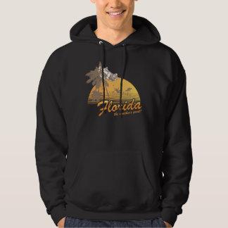 Visitez la Floride, le temps splendide - ouragan Sweat-shirts Avec Capuche