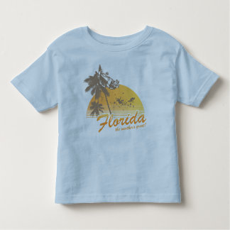 Visitez la Floride, le temps splendide - ouragan T-shirt Pour Les Tous Petits