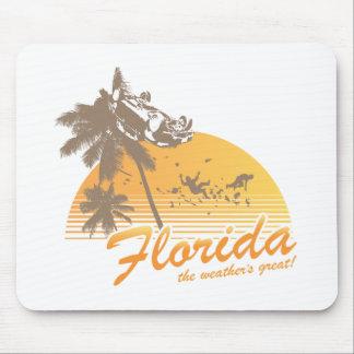 Visitez la Floride, le temps splendide - ouragan Tapis De Souris
