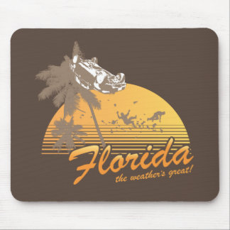 Visitez la Floride le temps splendide - ouragan Tapis De Souris