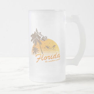 Visitez la Floride, le temps splendide - ouragan Mug À Café