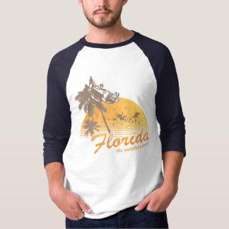 Visitez la Floride, le temps splendide - ouragan Tee Shirt