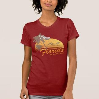 Visitez la Floride, le temps splendide - ouragan Tshirt
