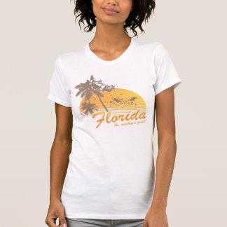 Visitez la Floride, le temps splendide - ouragan T-shirts