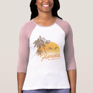 Visitez la Floride le temps splendide - ouragan T-shirts